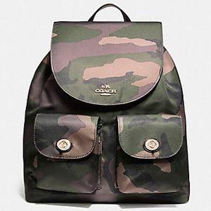 COACH Camo Backpack - RARE
